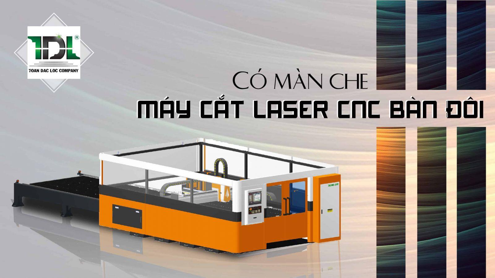 máy cắt laser bàn đôi