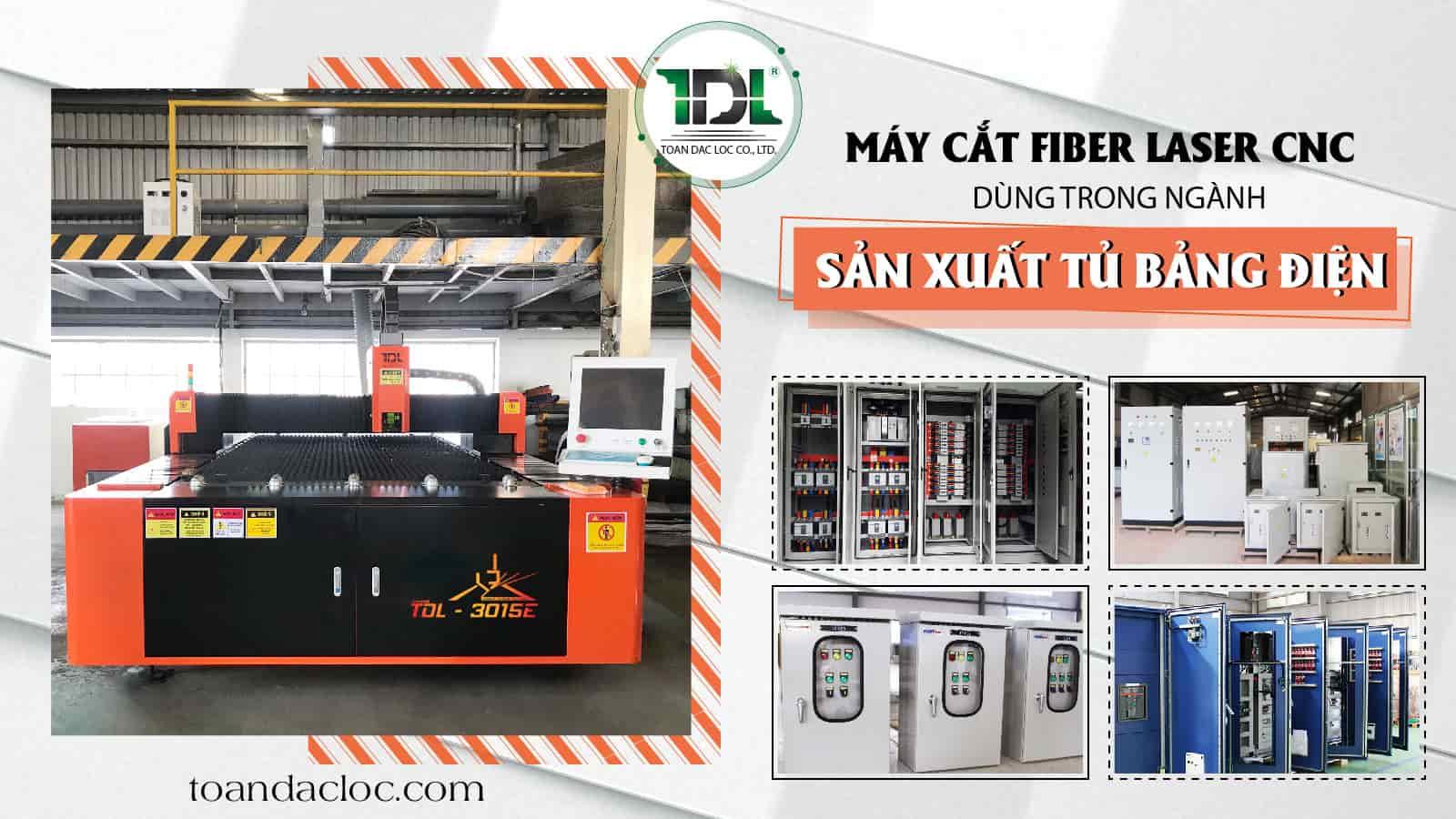 Máy cắt laser dùng trong tủ điện công nghiệp