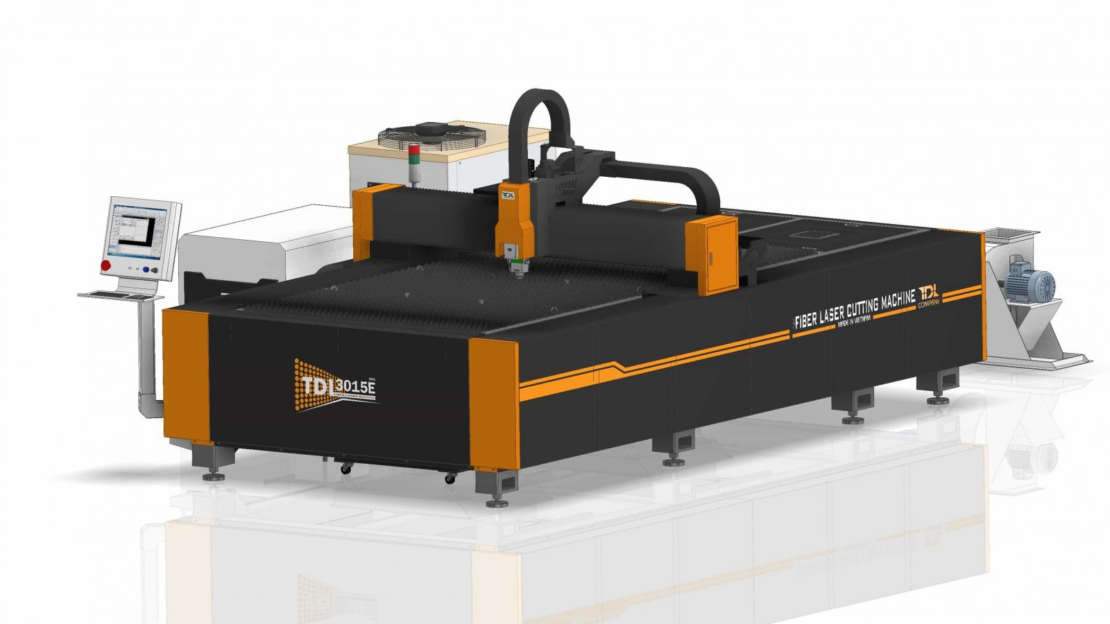 Máy cắt Fiber Laser CNC 3000*1500