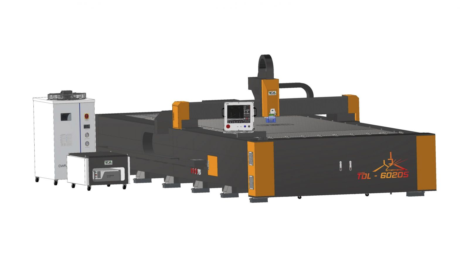 Máy cắt Fiber Laser CNC 6000*2000